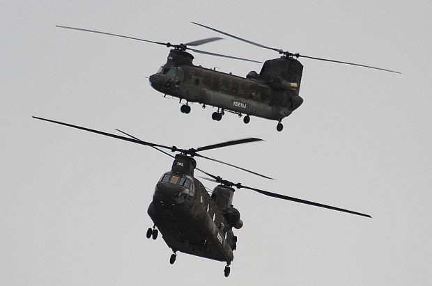 Gazette: Billings Becomes Home to the First 2 Civilian-Owned Chinook Helicopters
