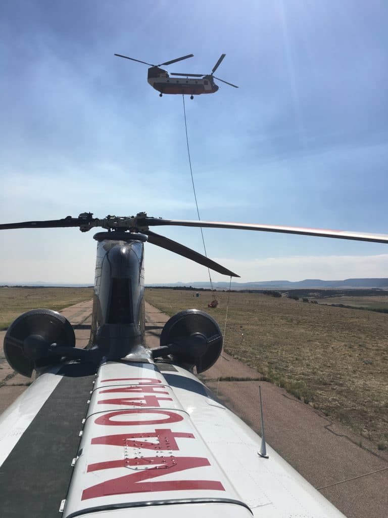 The safety of the CH-47 Heavy Lift Helicopter