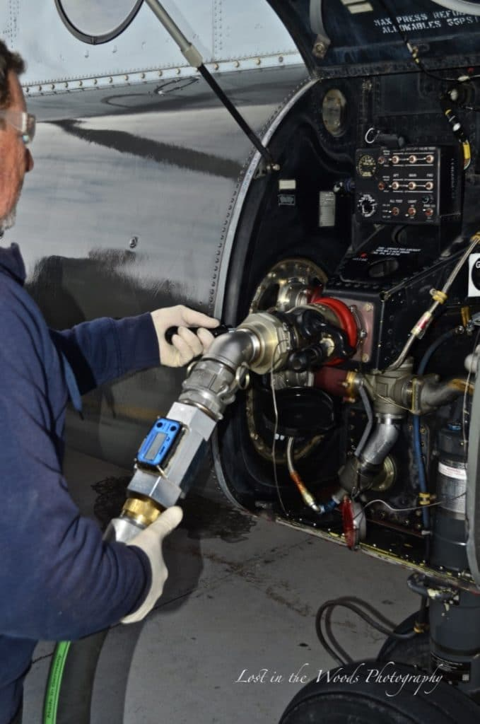 Refueling chinook fuel cells