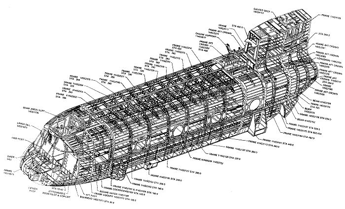Integrated Structural Components on the CH-47