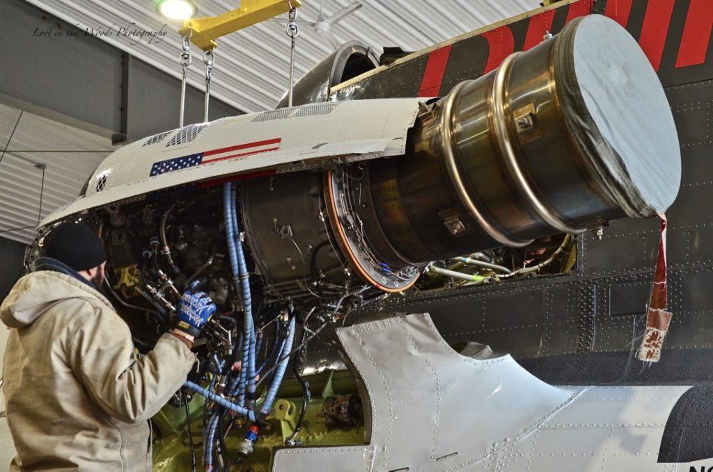 CH-47 Chinook Turboshaft Engine