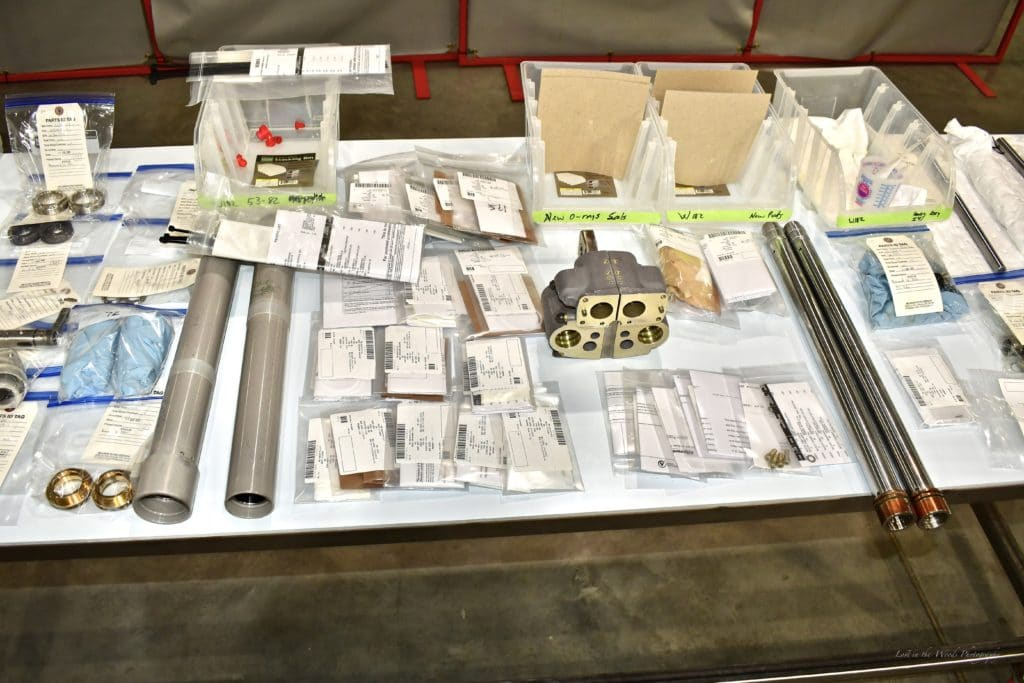 CH-47 chinook helicopter parts